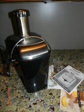 Genuine Jack LaLanne Power Juicer Pro (E-1189) Stainless-Steel Juicer
