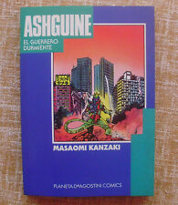 Comic, Ashguine, el guerrero durmiente, Masaomi Kanzaki, Planeta DeAgostini,1994