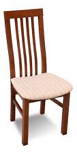 Luxus Design Polster Stuhl Stühle Sitz Lehn Büro Office Esszimmer Holz K5 NEU