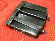 Vintage 1968 Berlin German Max Stelzer Leather Ammo Magazine Holder/ Pouch