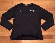 New Nike Men's Large FSU Seminoles 2016 Sideline Apparel Modern Crew Shirt $65