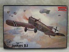 RODEN 433 1:48 WWI JUNKERS D.1 plastic model kit