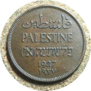 elf Palestine British 2 Mils 1927