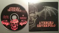 AVENGED SEVENFOLD 2003 PROMO CD mint!  2 TRK ETERNAL REST CHAPTER FOUR METALCORE