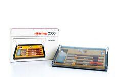 Vintage Rotring 2000,4-Set (0.2/0.3/0.4/0.5) Rapidographs,Pens,Tuschefüller
