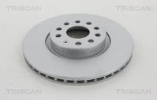 2x Bremsscheibe TRISCAN 812029193C vorne für AUDI SEAT SKODA VW