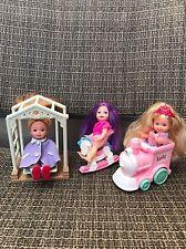 Mattel Barbie - Kelly's Friends Kelly Dolls w/accessories