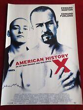 American History X Kinoplakat Poster A1 Edward Norton, Edward Furlong