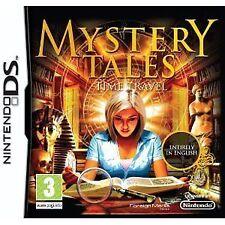 Nintendo DS NDS DSI LIte XL Mystery (Tales) Saga - Time Travel (Wimmelbild) Neu