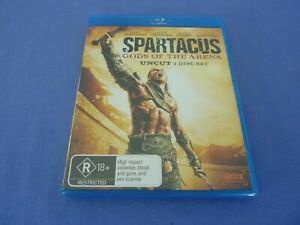 Spartacus Gods Of The Arena Blu ray John Hannah Free Tracked