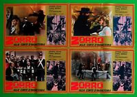 H43 Lot Fotobusta Zorro Die Arme D'England Spyros Vargas Malik