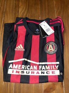 NEW ATLANTA UNITED FC Adidas Authentic MLS Home Jersey Men's SIZE Small