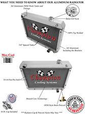 62 63 64 65 Chevrolet Nova Champion 3 Row Aluminum Radiator CC6265