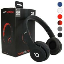 Beats by Dr. Dre Solo3 Wireless Bluetooth Over Ear Headphones Black & White