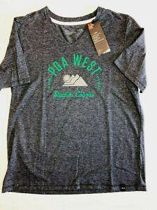 Under Armour New PGA West Short Sleeve T-Shirt Women's Medium Gray