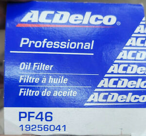 ACDELCO PF46 ACDELCO PROFESSIONAL CLASSIC DESIGN ENGINE OIL FILTER 19256041