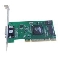 SDR ATI 8MB VGA PCI Profile Video  Rage XL Card PCI slot  Graphics Card 32bit