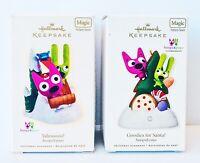 Hallmark Ornaments Hoops & Yoyo Goodies For Santa? & Yahooooo! Magic Sound *NEW*