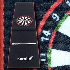 Karella Premium Velour Dartteppich mit offiziellen Oche-Abmessungen