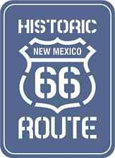 "Route 66 New Mexico Historic Road Bumper Sticker Decal 4"" x 5"""