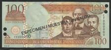 Dominican Republic 100 Peso Oro 2002 Specimen Unc