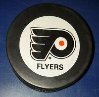 vintage 1990s Philadelphia flyers NHL inglasco OFFICIAL PRO GAME PUCK