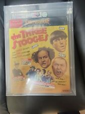 SEALED VGA 85 NOT WATA The THREE STOOGES Commodore C64 128 Cinemaware Version 2
