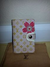 AUTH LOUIS VUITTON PINK CHERRY BLOSSOM ADDRESS BOOK BRAND NEW