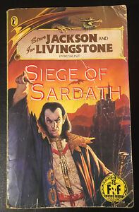 Siege of Sardath Fighting Fantasy #49 1992 Keith Phillips Bronze Dragon Good