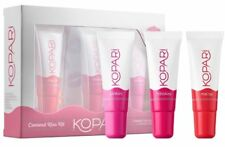 Kopari Coconut Kiss Kit 3 Tinted Lip Gloss Mai Tai Hibiskiss Pinkini New 1006