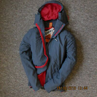 Superdry Mens Hooded Polar Windhiker fleece lining Jacket coat