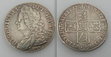 Nice Collectable Silver King George II - LIMA -  Half crown - Coin Dates 1746