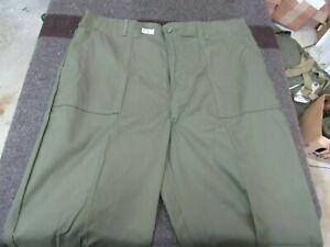 US Army OG507 70's era Cotton Trouser NOS originals 44x33  (BKB)
