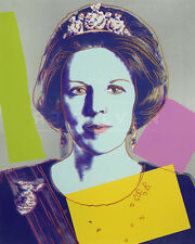 Queen Beatrix of the Netherlands (FS II.340) by Andy Warhol