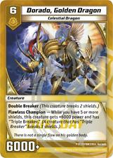 Kaijudo X1 DORADO, GOLDEN DRAGON Duel Day Foil Promo P18 Y1PRM DUEL MASTERS 2012