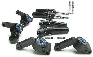 Bandit VXL AXLE STUBS hubs bearings front rear 3736 2432 3752 Traxxas 24076-3