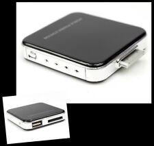 2200MAH PORTABLE EXTERNAL BLACK BATTERY CHARGER USB IPHONE 4S 4 3GS IPOD NANO