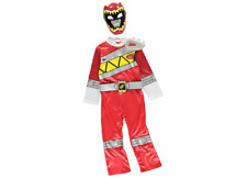 Boys Power Rangers Costume Dino Charge Red age 3-4 Years new