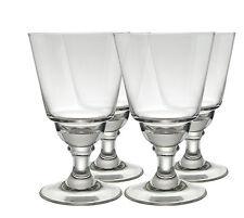 LYON ABSINTHE GLASSES without CUTS, SET OF 4, B-STOCK