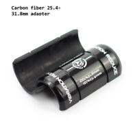 Carbon Handlebar Shim Stem Reduce Adapter 35mm 26mm 25.4mm to 31.8mm