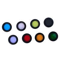 8pcs Lot 1.25 Nebula Filter Moon Filter Sun Filter For Telescope Eyepiece Pack