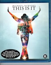 BLU-RAY   - MICHAEL JACKSON this is it EX