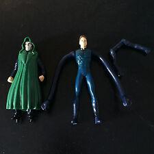 Fantastic 4 (2005) McDonald's Mr. Fantastic & Dr. Doom Figures