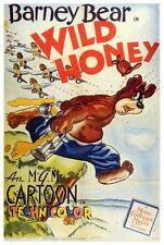 WILD HONEY Movie POSTER 27x40 Barney Bear