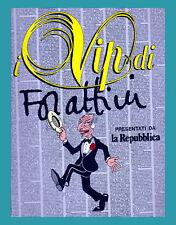 ALBUM FIGURINE I VIP DI FORATTINI LA REPUBBLICA COMPLETO MENO 17 FIGURINE
