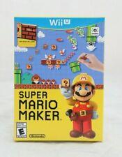 Super Mario Maker Bundle w/ Idea Book Brand New