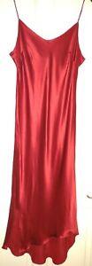 Ladies Hobbs Marilyn Anselm Pink Silk Dress. Size 14