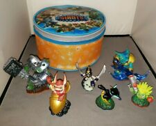 Skylanders Figures Lot 2012, 2013, 2014 with Carry Case