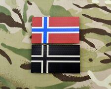 Infrared Norway Flag Patch Set FSK MJK NORSOCOM Hærens Jegerkommando IR
