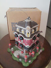 Department dept 56 ? ~ Haunted Halloween House Starbucks coffee shop W/Box